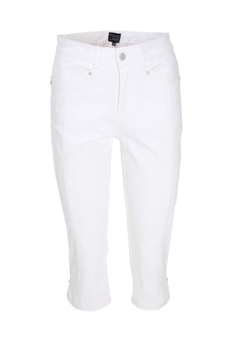 Summer Coloured Denim Below Knee Jean