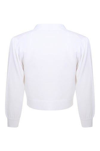 Viscose Rich Knitwear Bolero