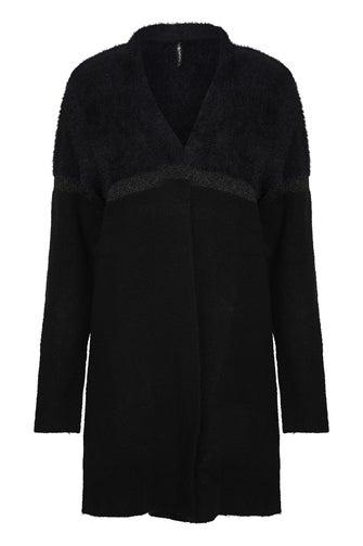 Fluffy Knitwear Cardigan