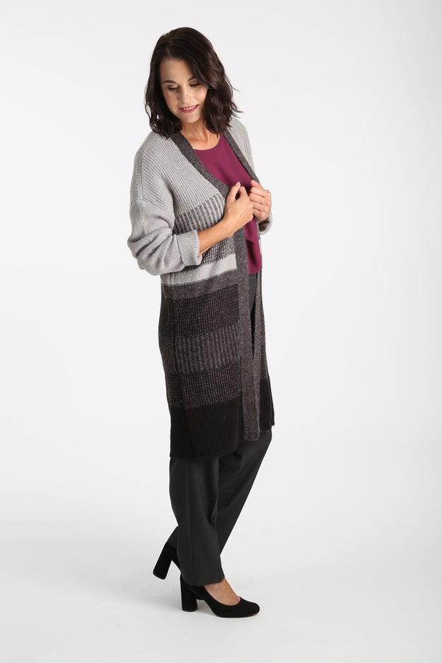 Recycled Acrylic Knitwear Cardigan