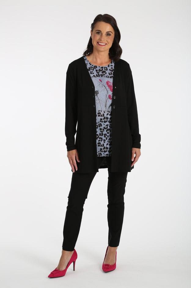 Fine Gauge Knitwear Cardigan