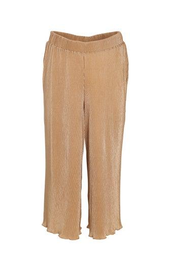 Plain Plisse Culottes