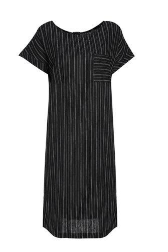 Linen Rich Stripe Dress
