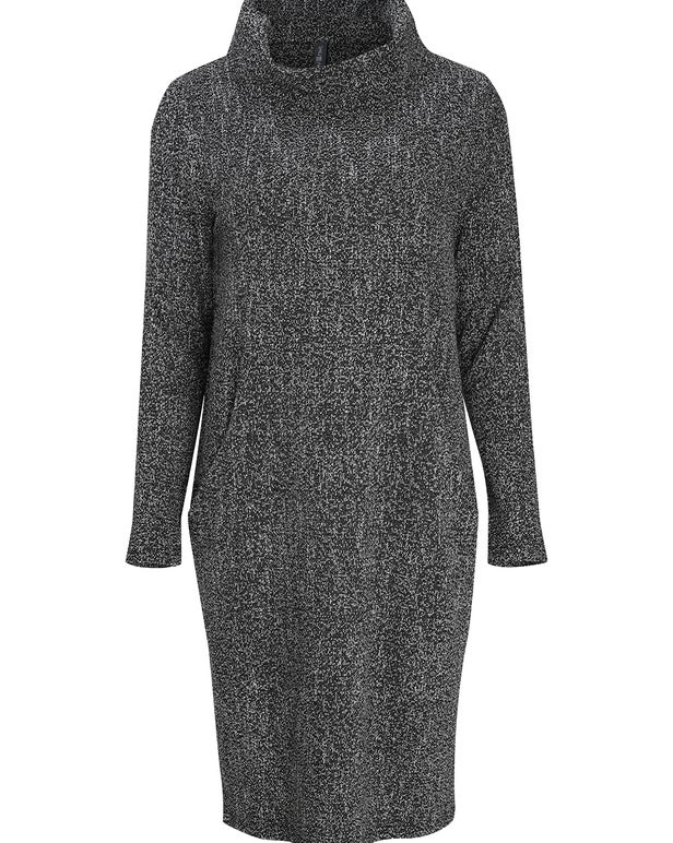 Salt & Pepper Knit Dress