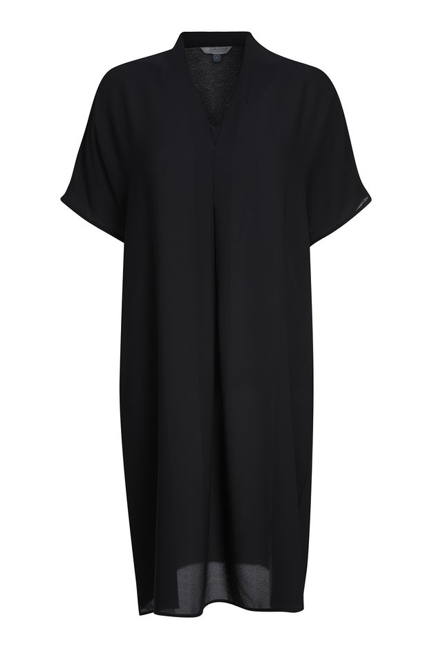 Plain Chiffon Dress