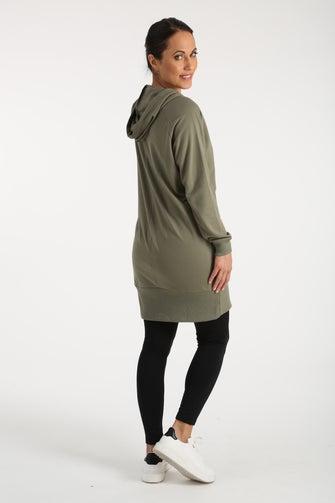 Unbrushed Fleece Dress