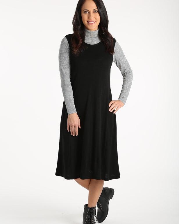 Merino Blend Dress