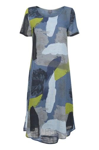 Printed 100% Cotton Dress