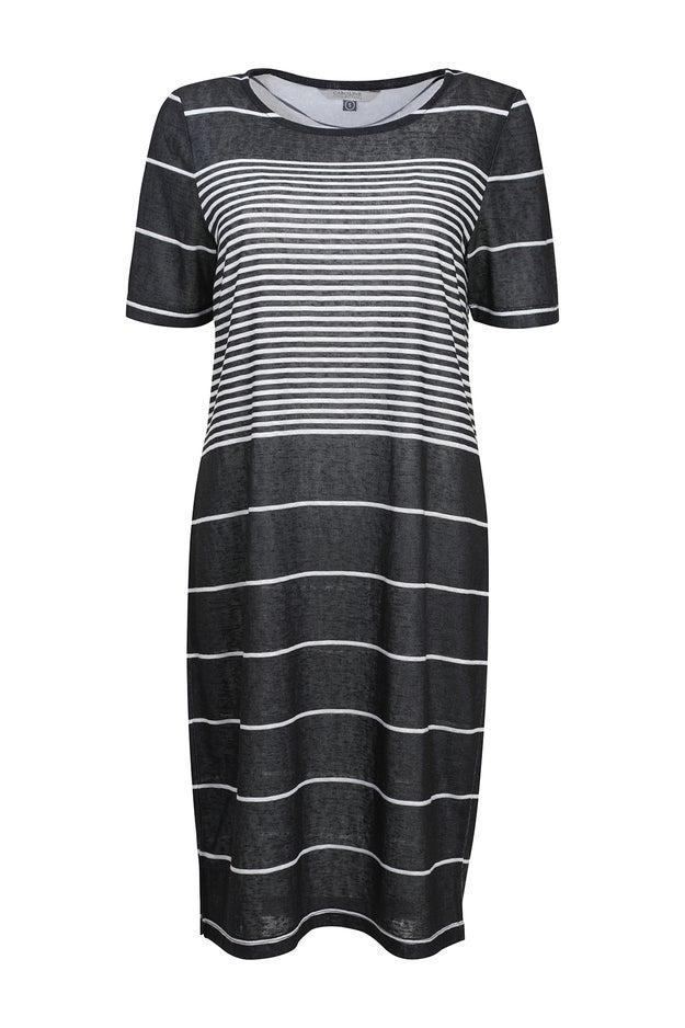 Printed Slub Dress