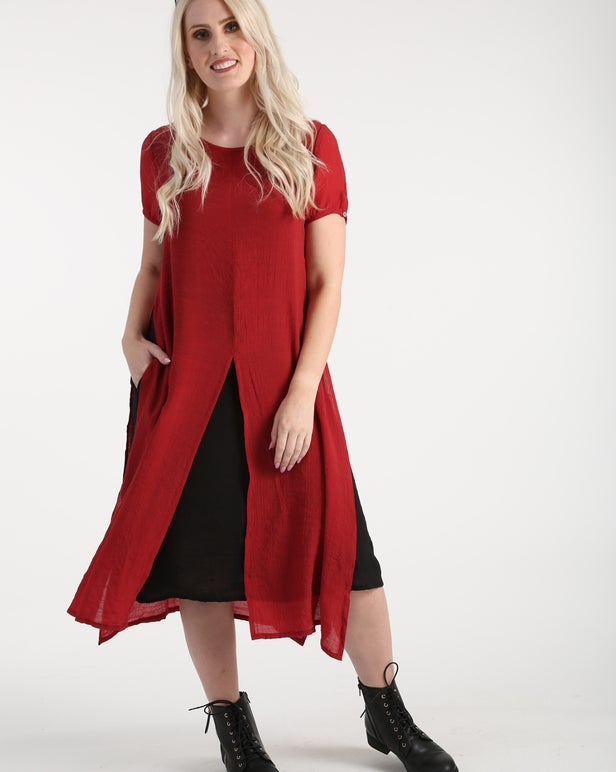 Soft Cross Hatch Dress