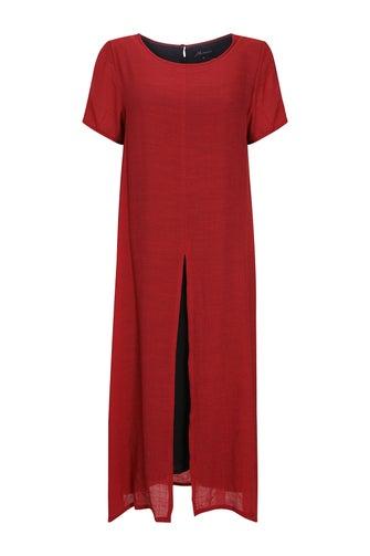 Soft Cross Hatch Dress
