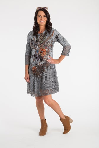 Digital Prints Dress