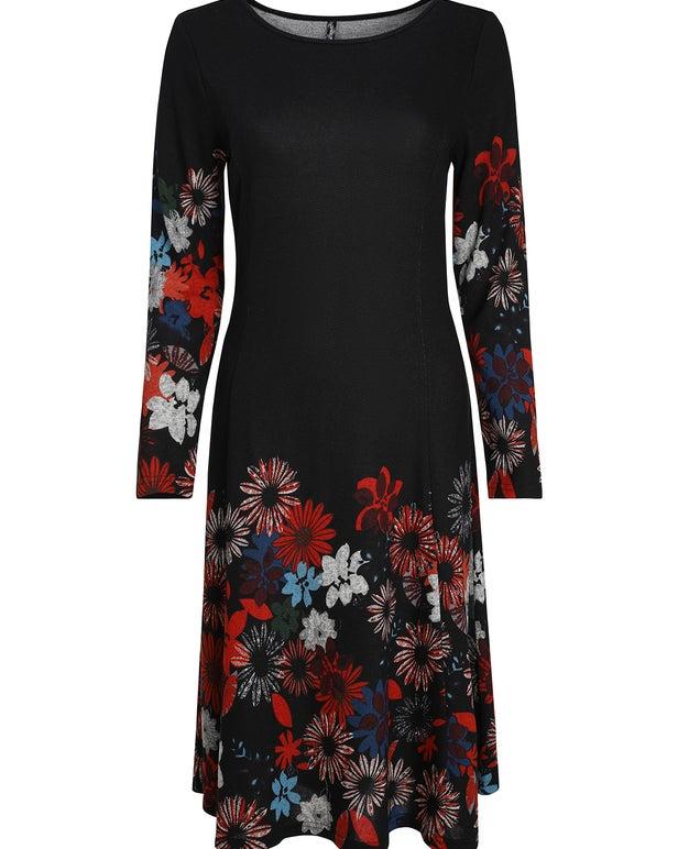 Digital Print Warm Touch Dress