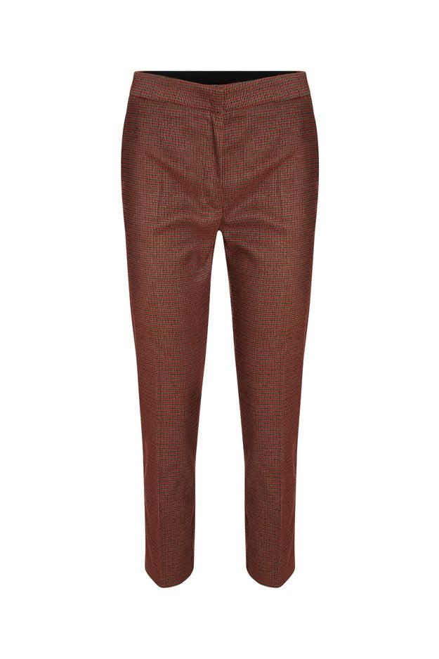 Warm PV Check Extra Short Pant