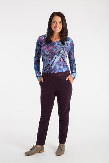 Stretch Cord Extra Short Pant