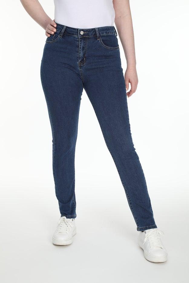 Slim 5 Pocket Extra Short Jean Wonder Denim