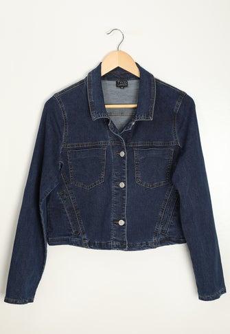 Crop Wonder Denim Jacket