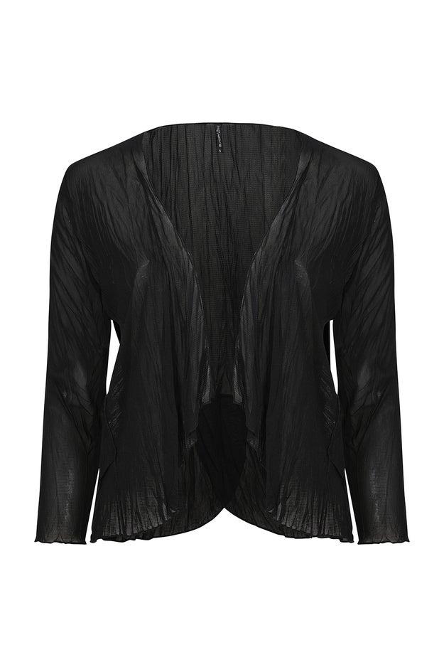 Plain Crushed Mesh Jacket