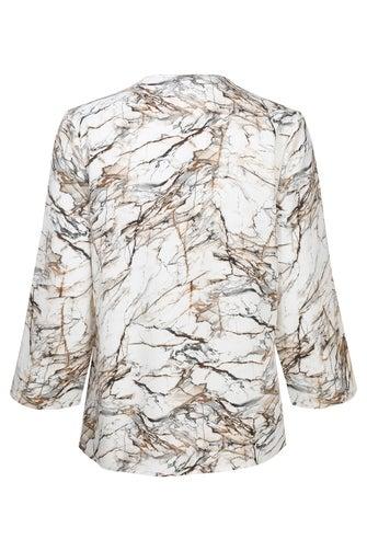 Printed Chiffon Jacket