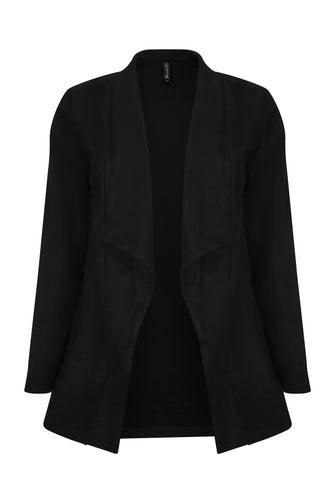 Suede Look Jacket