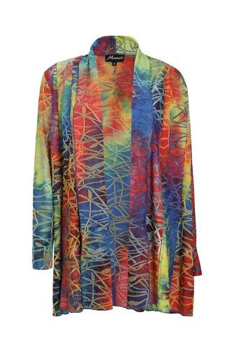 Fancy Burnout Jacket