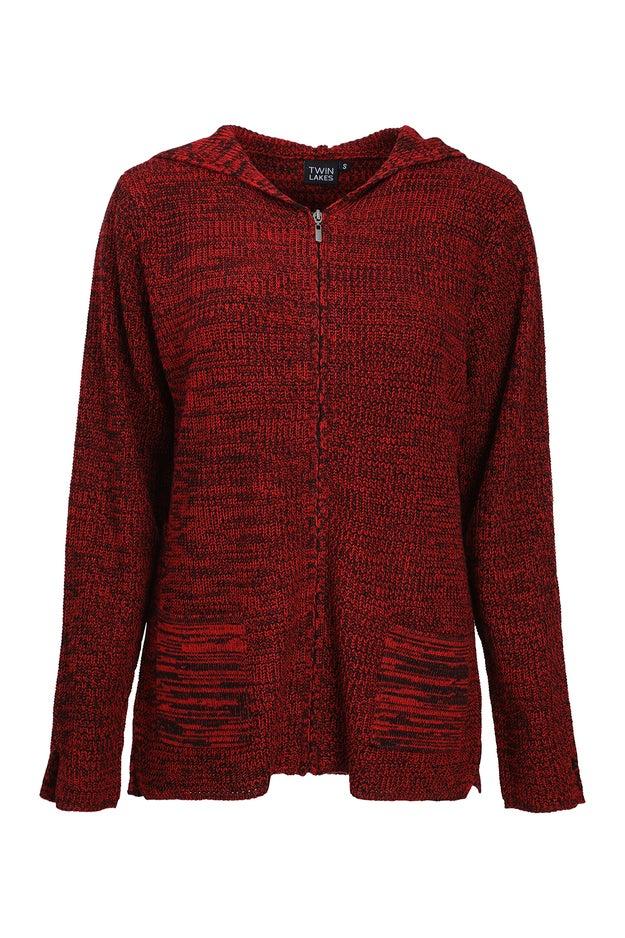 Two Tone Knitwear Jacket