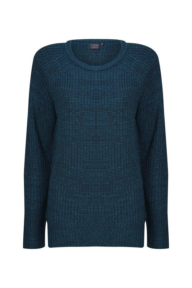 Two Tone Knitwear Jersey