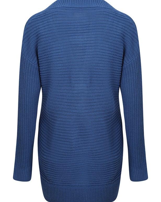 Acrylic Rib Knitwear Jersey