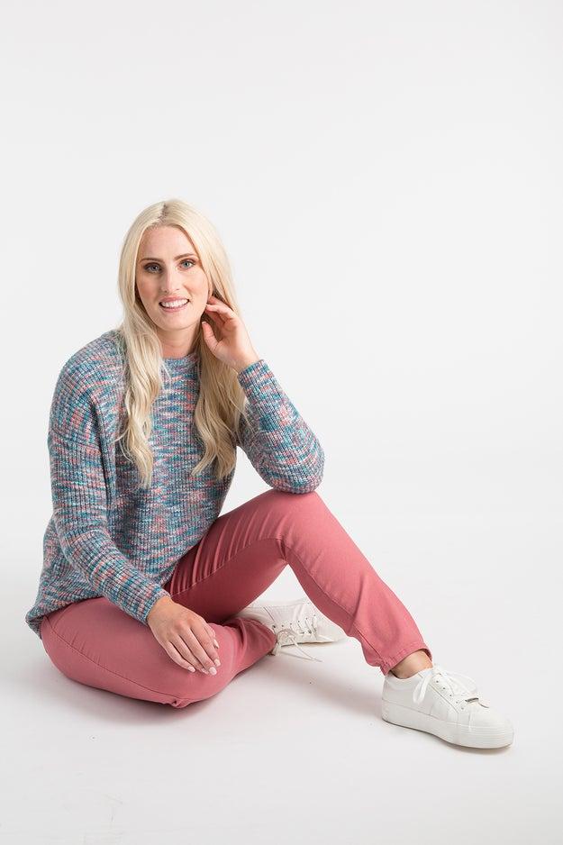 Space Dye Knitwear Jersey
