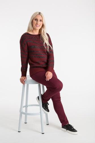 Lurex Knitwear Jersey