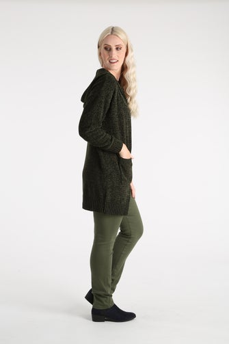 Chenille Knit Jacket