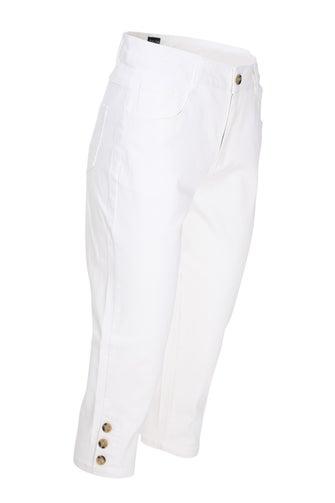 Summer Coloured Denim Mid Calf Jean