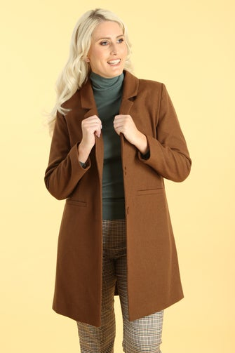 25% Wool Blend Coat