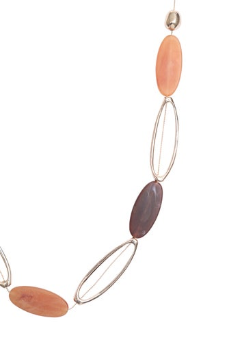 Metal Bead Necklace