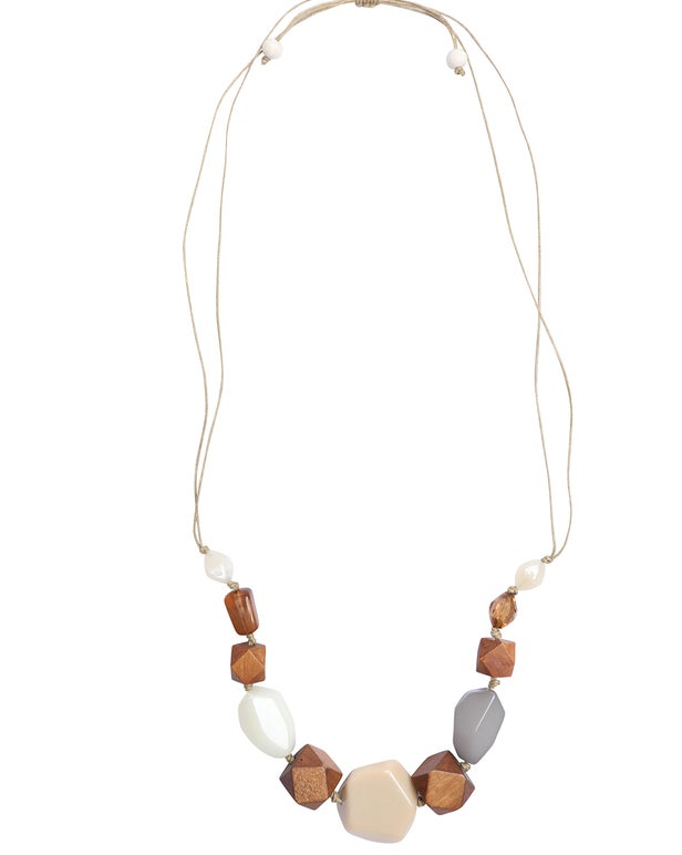 Natural Coloured Necklace