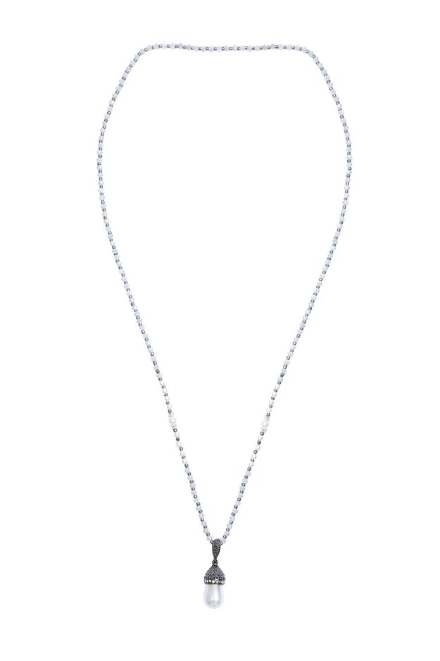 Pearl Look Necklace