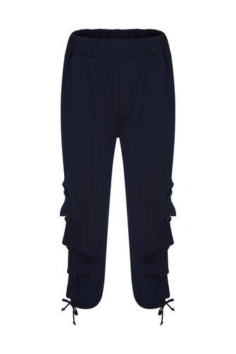 Soft Crepe Knit Pant