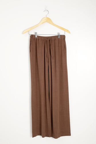 Viscose Linen Blend Pant