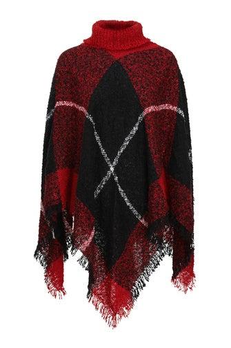 Knit Layer Poncho