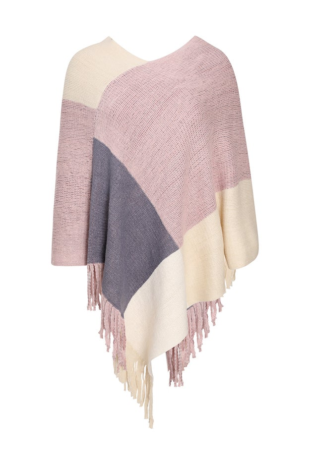 Knit Layer Poncho