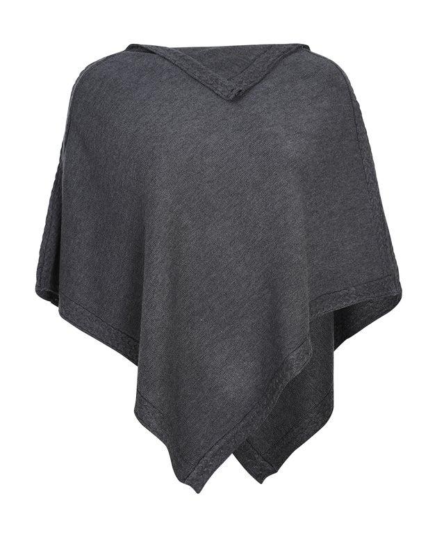 Fine Cozy Knitwear Poncho