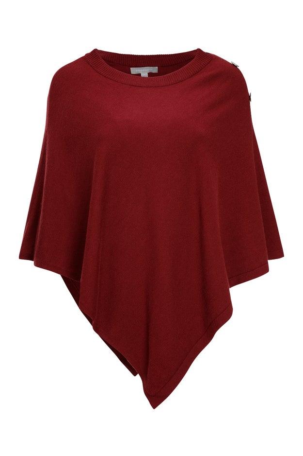 Luxe Knitwear Poncho