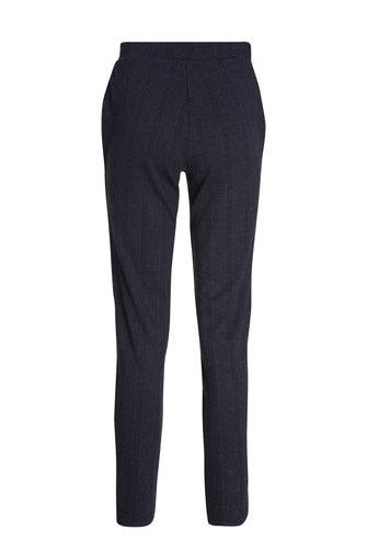 Relaxed Jacquard Ponti Regular Pant