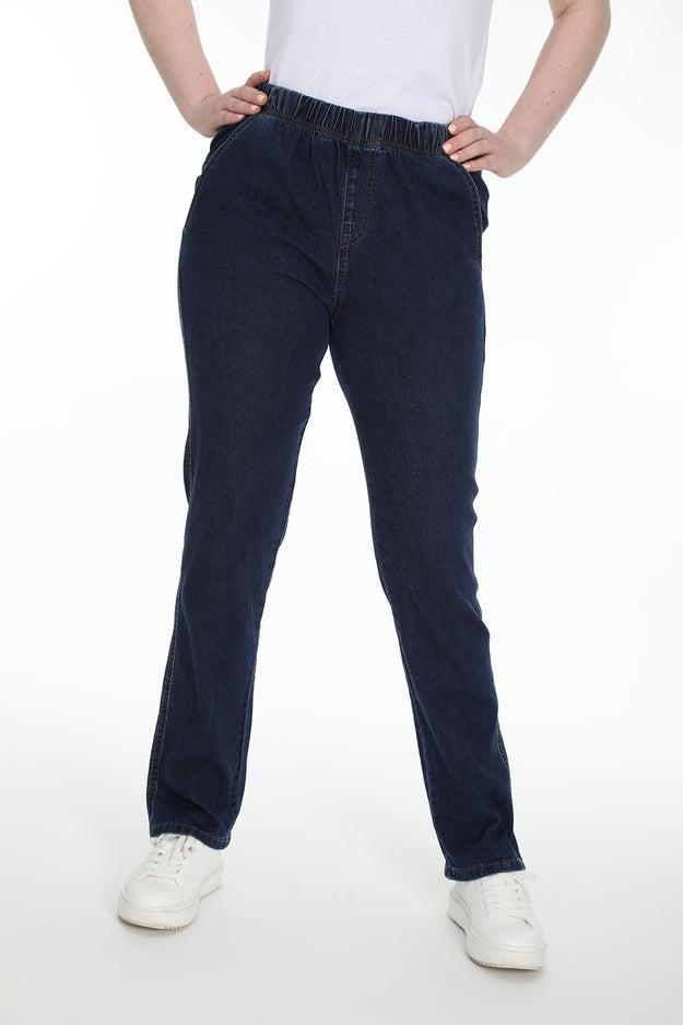 Straight Pull On Regular Jean Wonder Denim