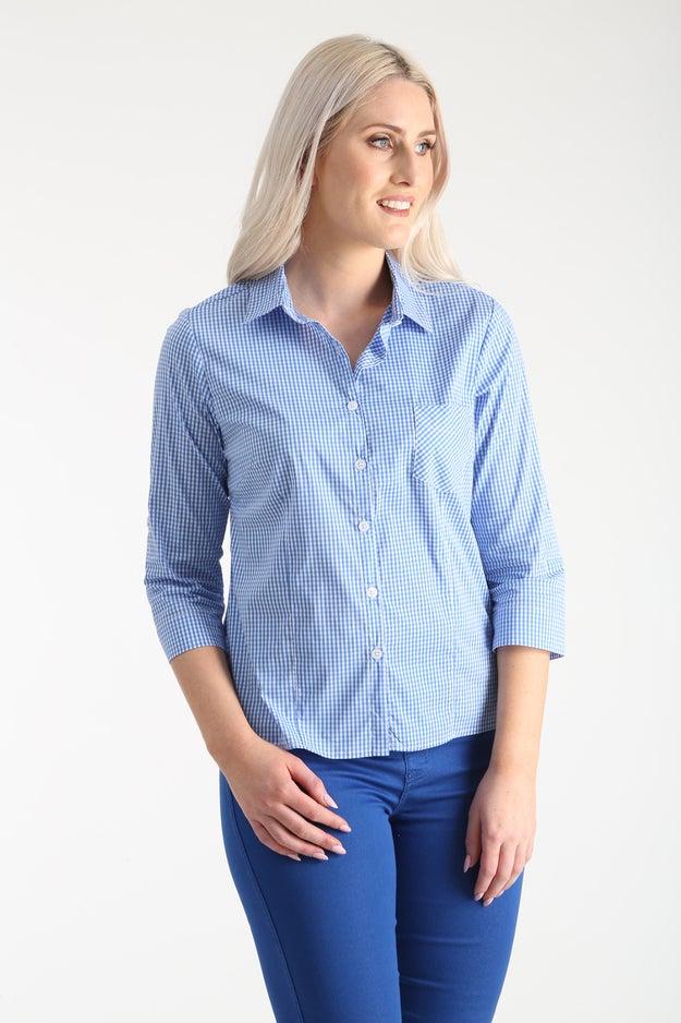 Cotton Nylon Stretch Shirt