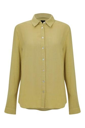 Viscose Linen Blend Shirt