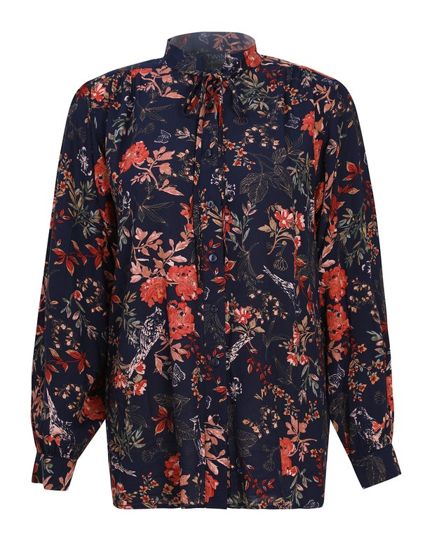 Printed Rayon Shirt