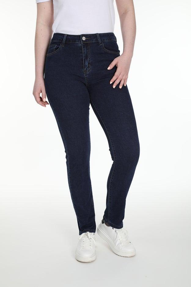 Slim 5 Pocket Short Jean Wonder Denim