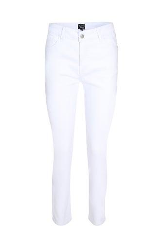Coloured Denim Short Jean