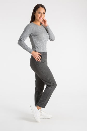 Relaxed Ponti Extra Short Pant